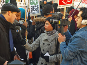 Reporting on the Gaza seige